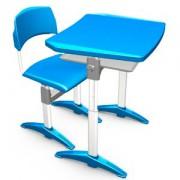 Conjunto Cadeira e Mesa Plástica EloPlax Adulto